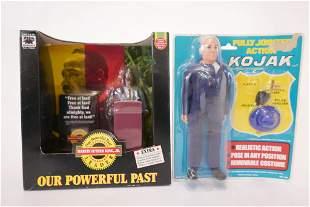 Martin Luther King Jr. and Kojak Dolls