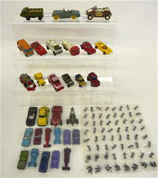 Die cast cars, trucks & Military men, Hot Wheels,