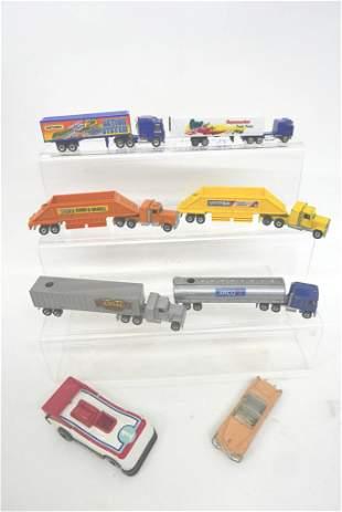 Hot Wheels, Matchbox Trucks & Dinky Car