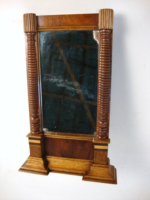 7: Early 19th C. Signed Federal Pier Mirror
