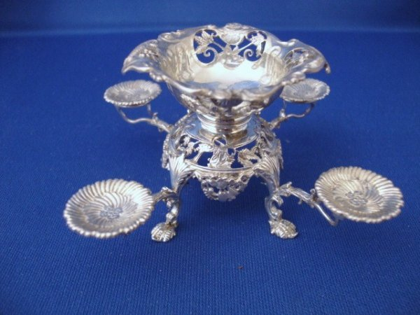 466: Jens Torp Miniature Sterling Epergne