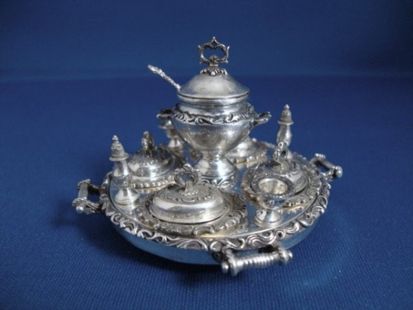 476: O'Meara Sterling Supper Service