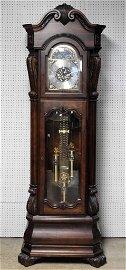 Large Howard Miller Chiming Tall Case Clock