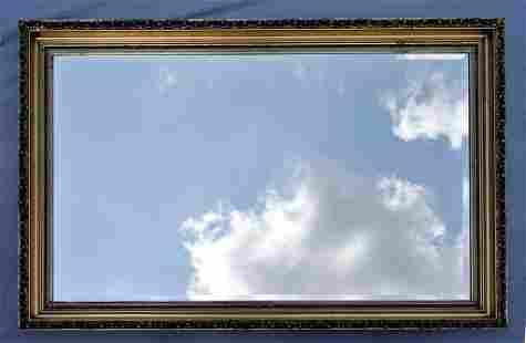 Large Decorator Gilt Mirror