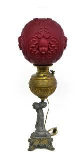 Antique Miller Parlor Lamp