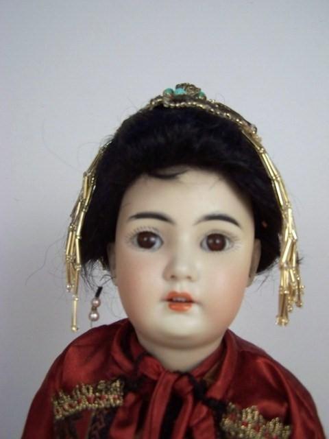 "23: 13"" Simon & Halbig 1329 Oriental Child"
