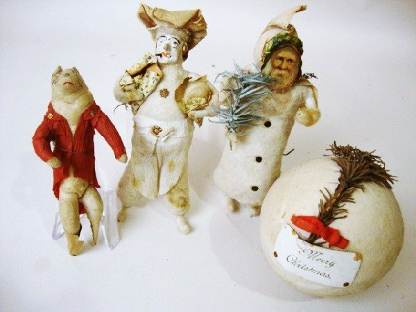 3: Cotton Batting Ornaments