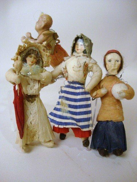 4: Cotton Batting Ornaments