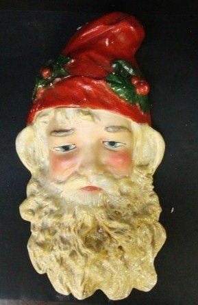 6: Vintage Plaster Santa