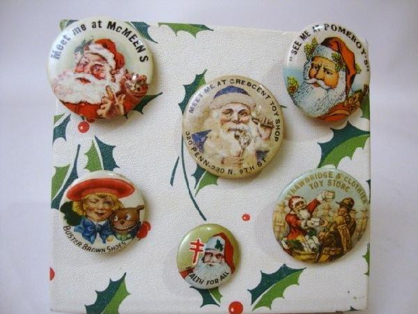 7: Santa Advertising Buttons
