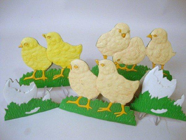 13: Pressed Cardboard Chicks & Eggs