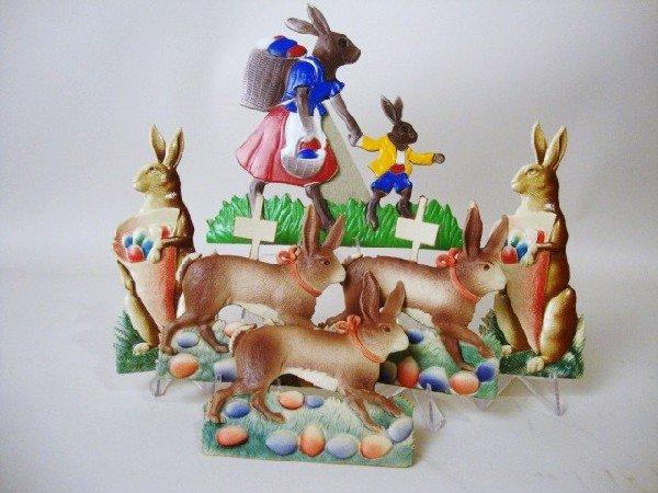 14: Pressed Cardboard Rabbits