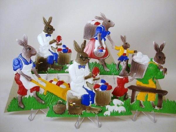 15: Pressed Cardboard Rabbits