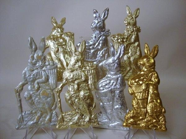 16: Pressed Cardboard Rabbits