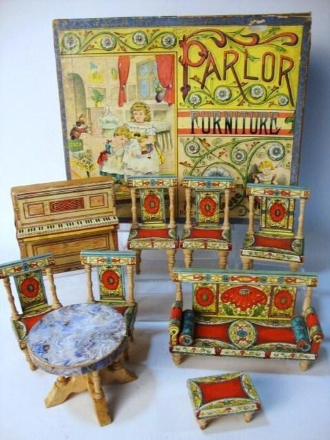 1: R. Bliss Parlor Furniture In Original Box