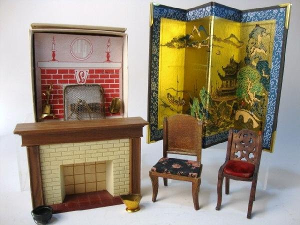 5: Dollhouse Fireplaces