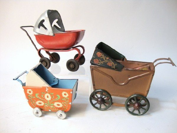 7: Three Baby Carriages