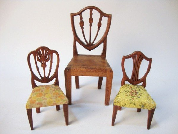 12: Rare Tynietoy-type Chairs by George LeClerc