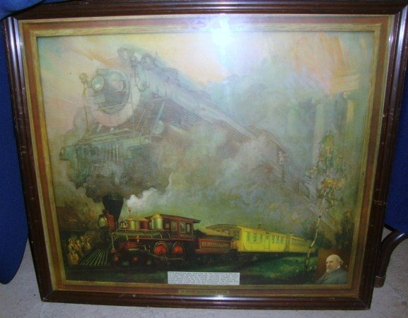 3: Advertising Wall Poster Railroad