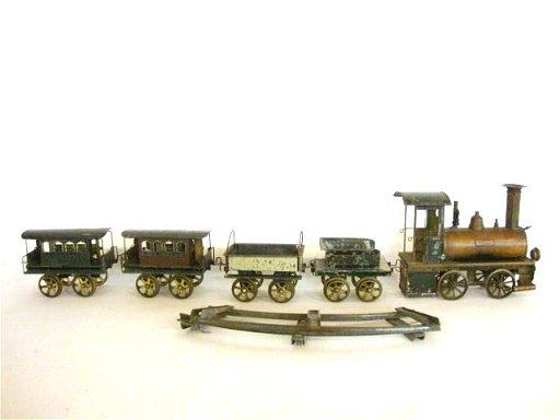 136: VULKAN Early Steam Powered Ernst Plank 13 Pc  Set