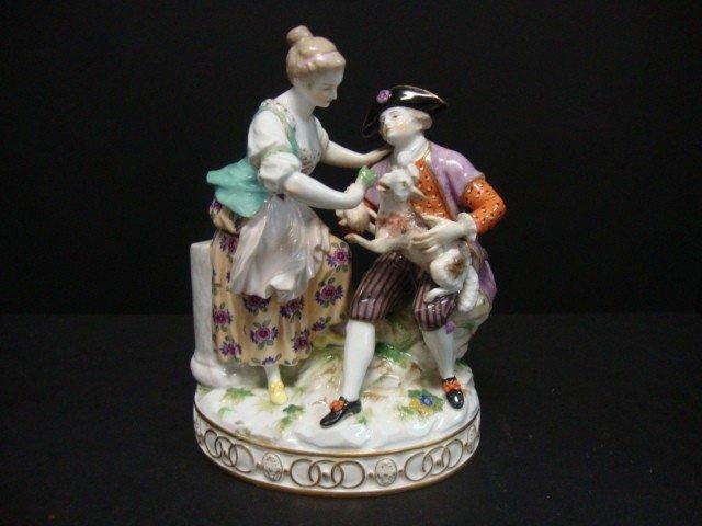 812: Meissen Figural Group