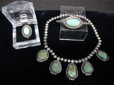 1027: Indian Sterling Jewelry