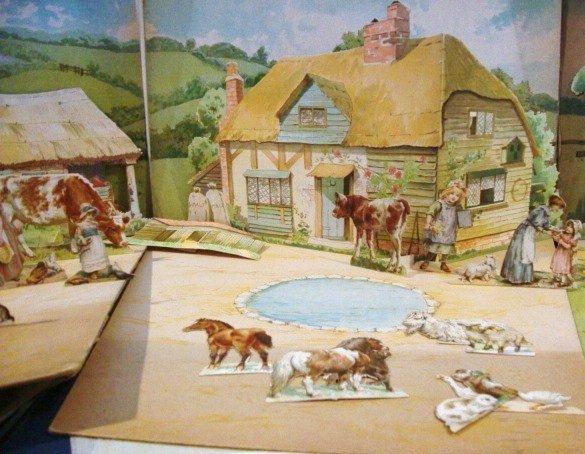 2: Nursery Farmyard Diorama