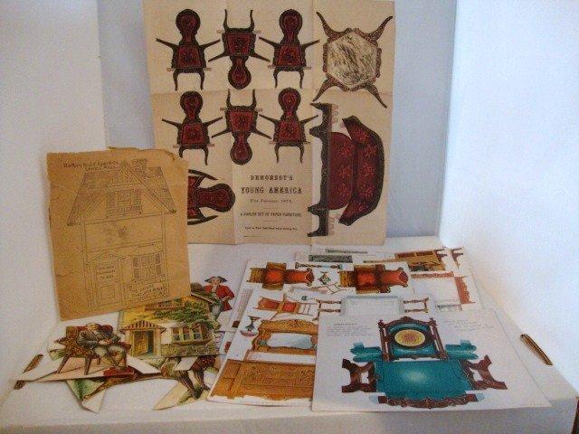 3: Litho Dollhouse Furniture