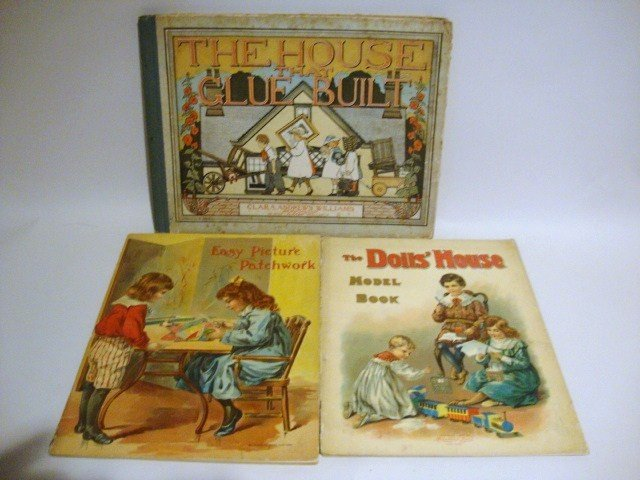 8: Paper Dollhouse Books