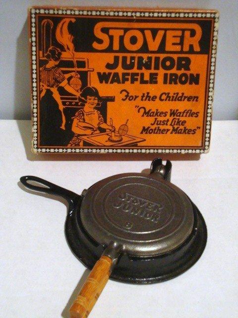 14: Cast Iron Miniature Waffle Iron