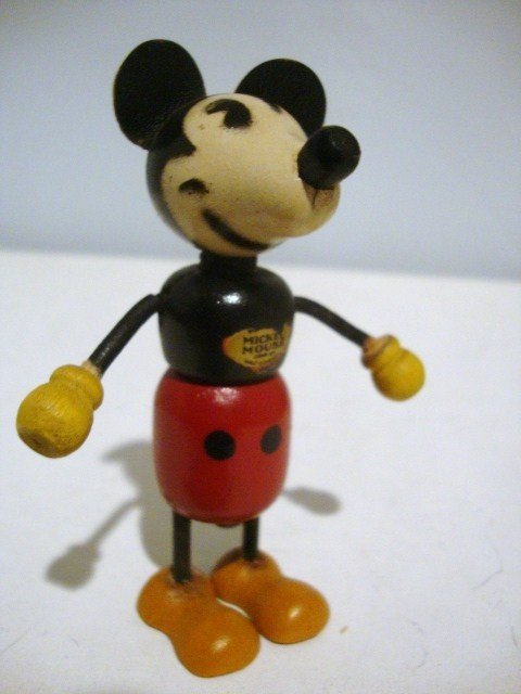22: Wooden Mickey Mouse