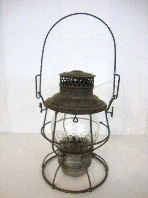 12: Wire Ring Bottom Railroad Lantern