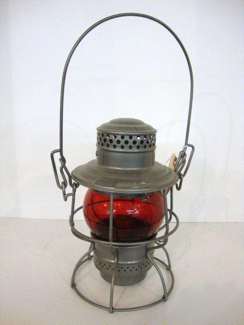 13: Wire Ring Bottom Railroad Lantern Short Globe