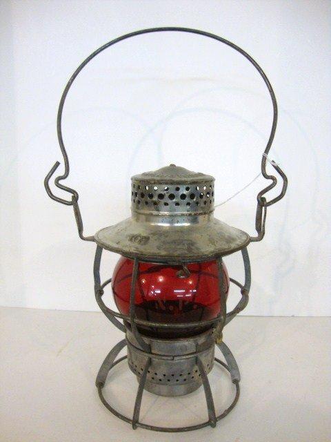 15: Wire Ring Bottom Short Globe Railroad Lantern