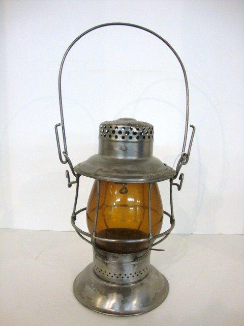 17: Bell Bottom Railroad Lantern