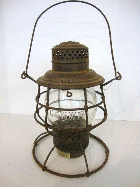 18: Wire Ring Bottom Railroad Lantern