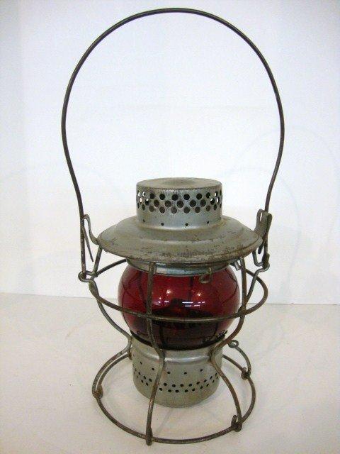 19: Short Globe Wire Ring Bottom Lantern