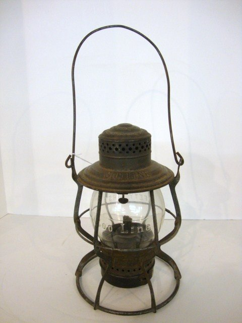 20: Wire Ring Bottom Railroad Lantern Soo