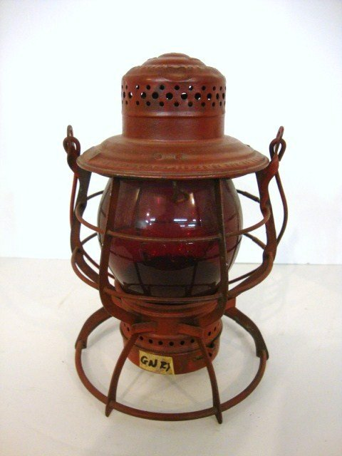 21: Wire Ring Bottom Railroad Lantern