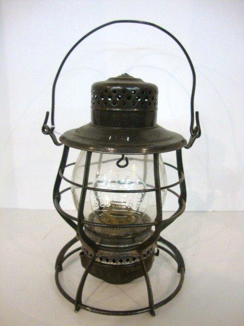 23: Wire Ring Bottom Railroad Lantern