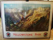 35: Northern Pacific Railway Advertising Poster