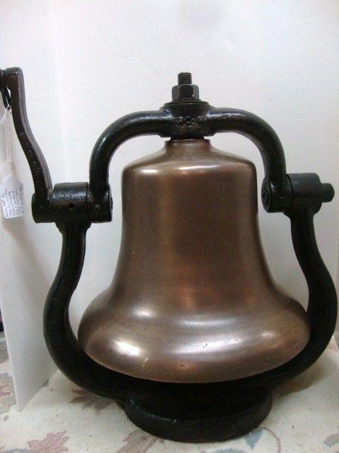 102: Bronze Steam Locomotive Bell
