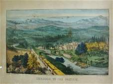 446 Currier and Ives Litho