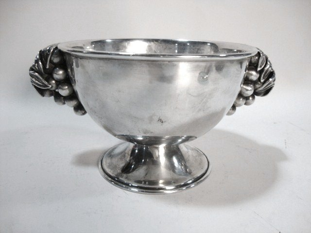 2004: Mexican Sterling Serving Bowl