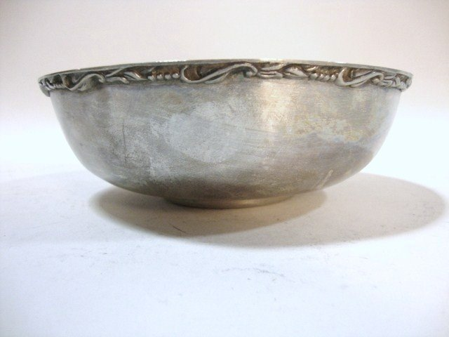 2010: Mexican Sterling Serving Bowl