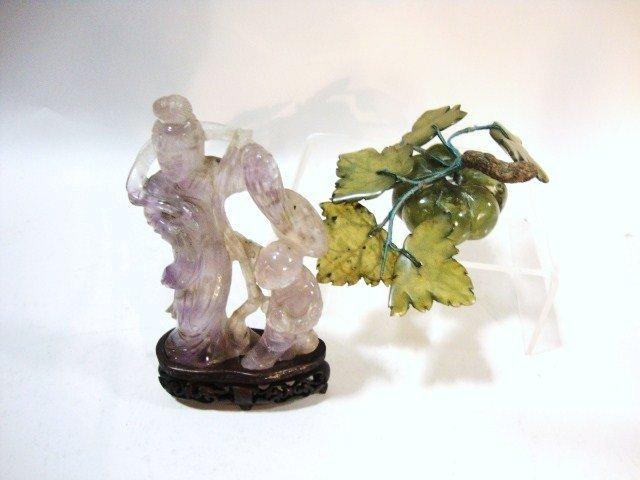 2020: Amethyst Figurine Jade Fruit