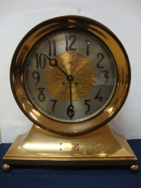 2078: Chelsea Ships Bell Clock