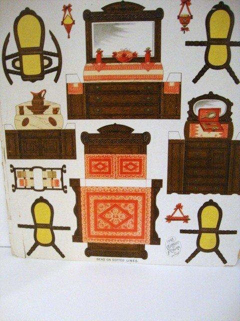 1: Paper Dollhouse Furniture