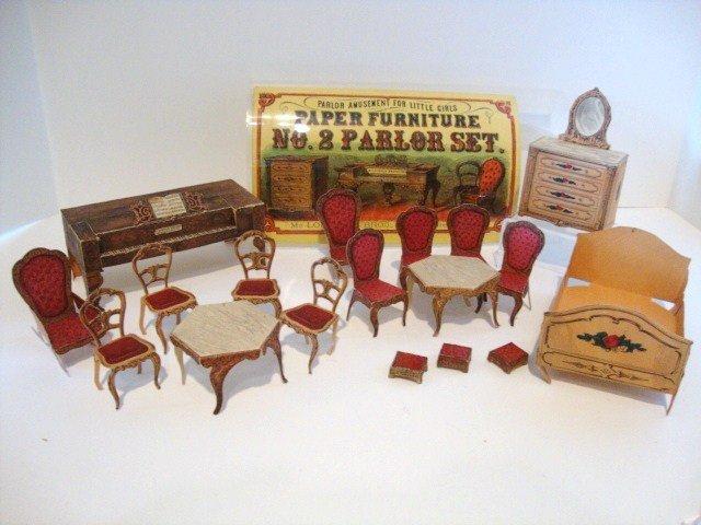 4: Paper Dollhouse Furniture
