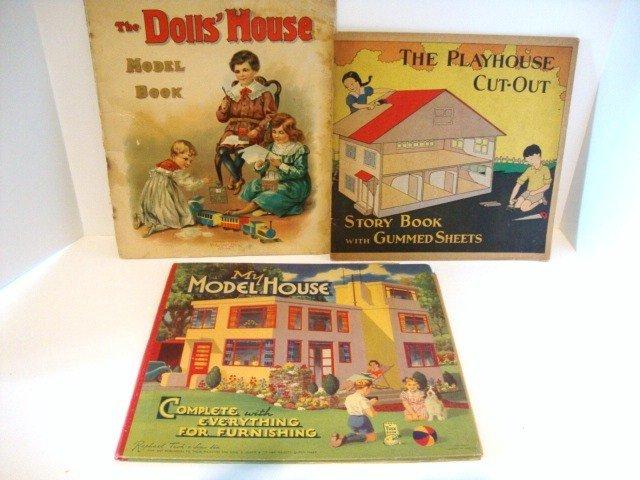 6: Three Dollhouse Paper Books
